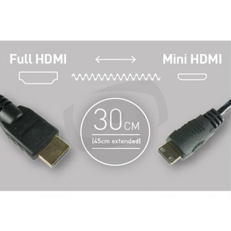 HDMI - HDMI Mini cable 08