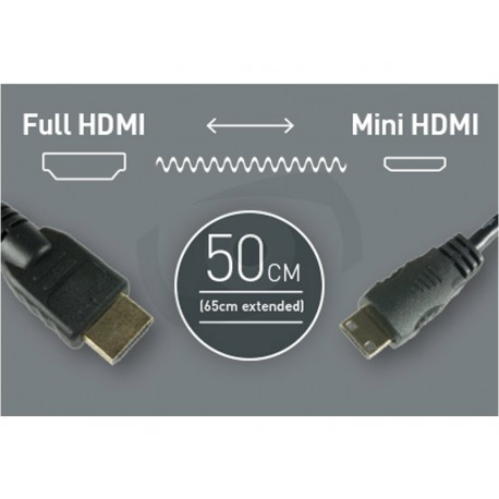 HDMI - HDMI Mini cable 09