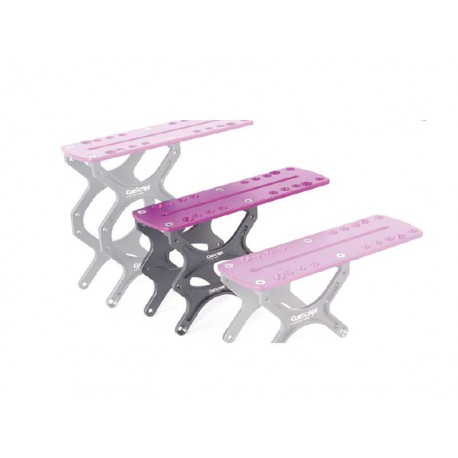 Mount Purple Riser Plate Medium