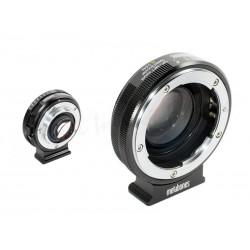Nikon to Micro 4/3 - Speed Booster XL 0.64x