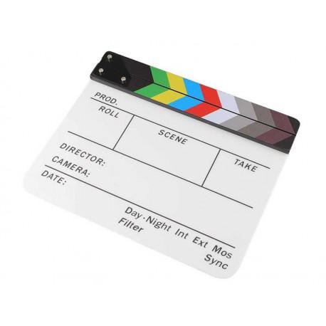Clap Ciné blanc