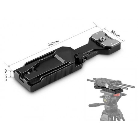 VCT-14 Quick Release Tripod Plate 2169