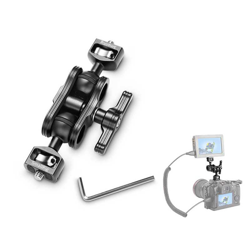 Articulating Arm with Double Ballheads
