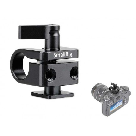 Ø15mm Rod Clamp with Cold Shoe