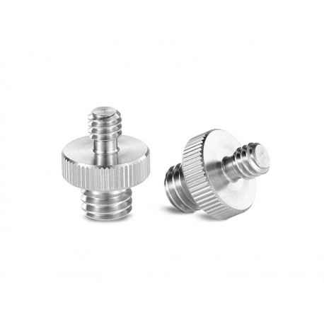 "Double Head Stud with 1/4"" to 3/8"" thread"