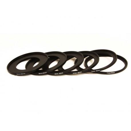 82mm Filter Step Up Ring Set