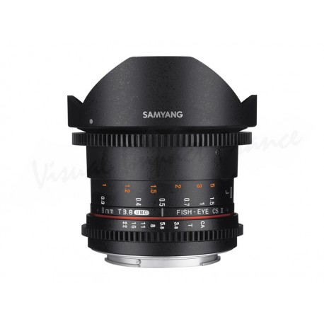 8mm T3.8 VDSLR UMC Fisheye CS II