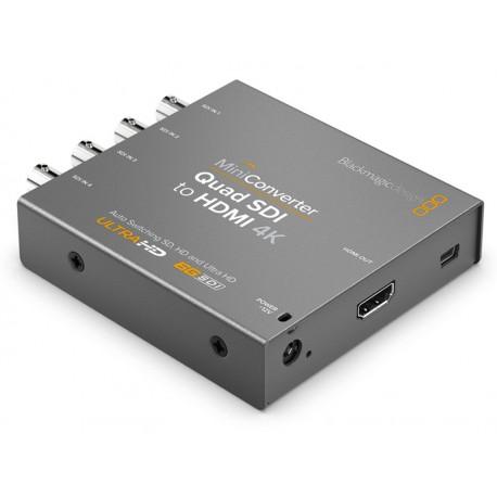 Mini Converter - Quad SDI to HDMI 4K 2