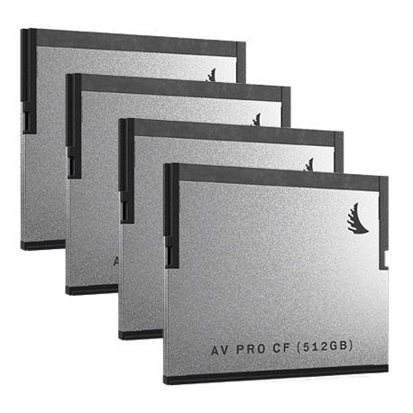 AV PRO CF 512Go Pack 4