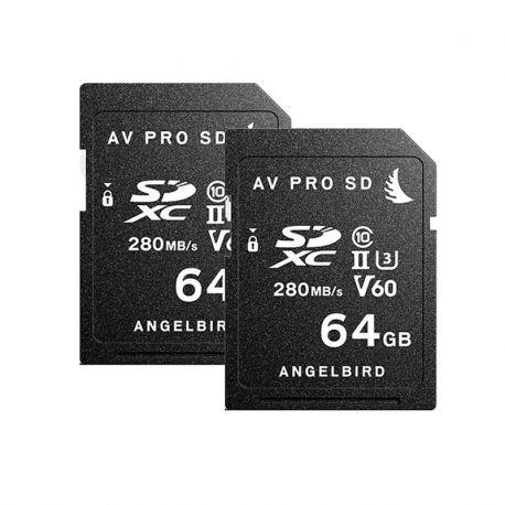 AV Pro SD V60 MK II 64Go Pack 2