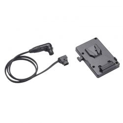 Anton Bauer V-Mount Battery Bracket with P-Tap to 3-pin