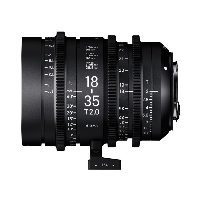 High Speed Zoom - 18-35mm T2