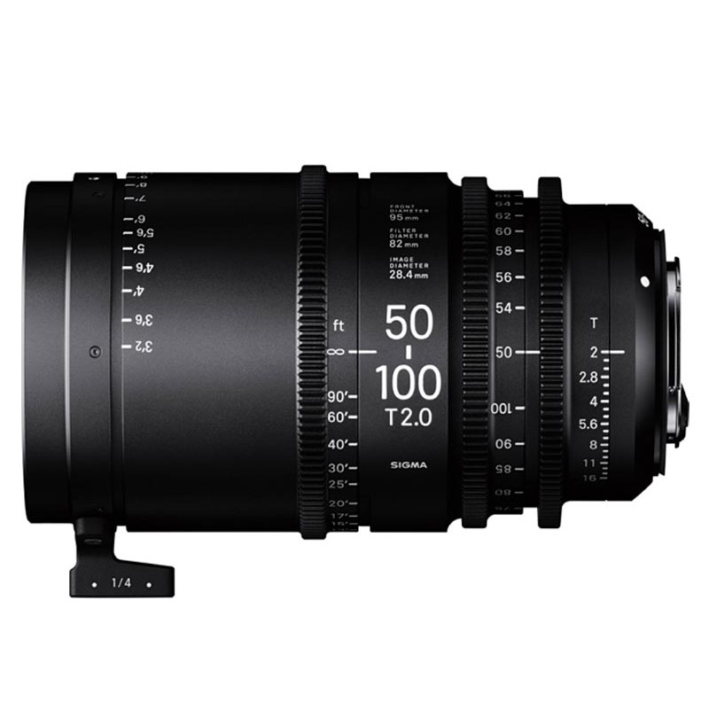 High Speed Zoom - 50-100mm T2