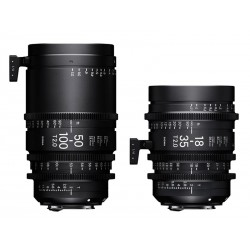 18-35 + 50-100mm T2 High Speed Zoom