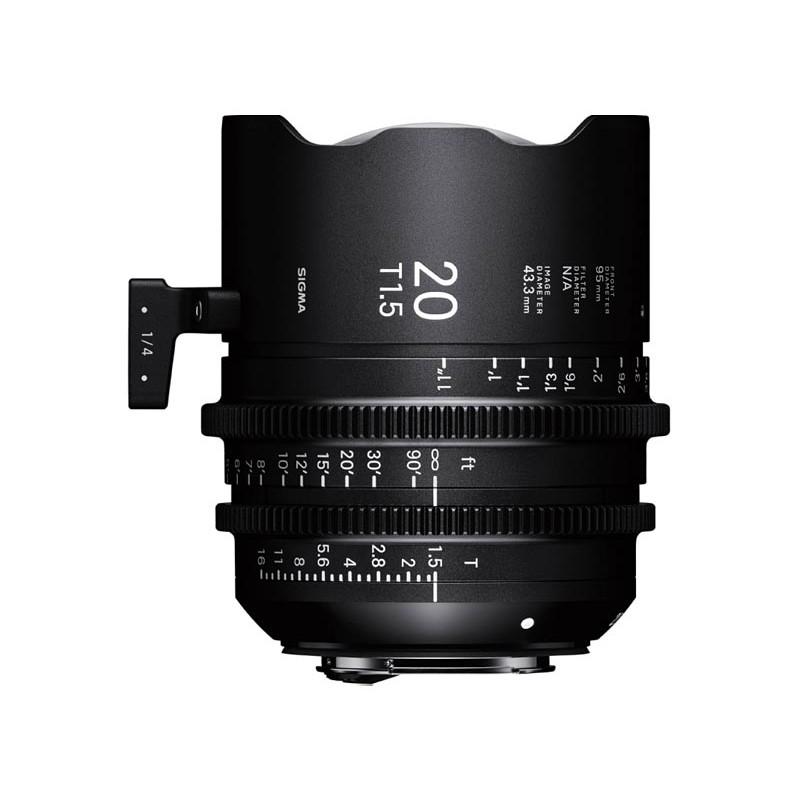 FF Prime - 20mm T1.5 Full Frame