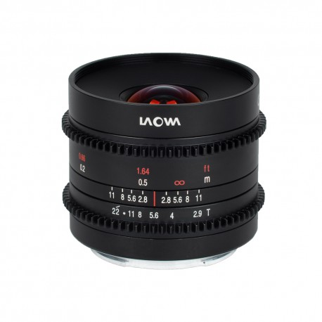9mm T2.9 Zero-D Cine