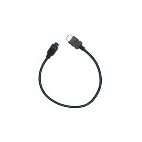 Thin 12 inch Mini HDMI to HDMI Cable