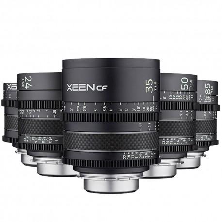 XEEN CF Kit 5 Canon EF/M