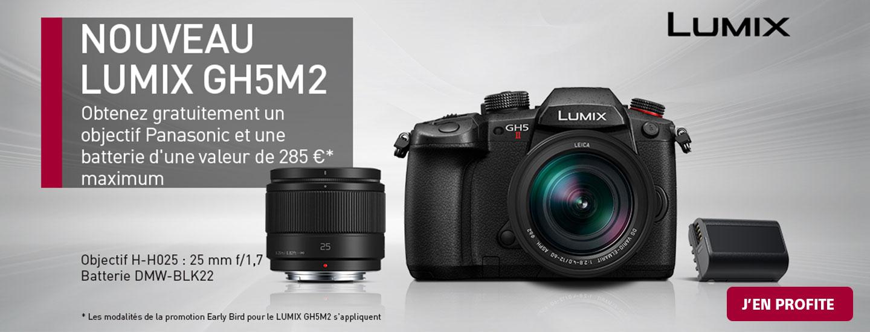 Offre de lancement Panasinc Lumix GH5 II