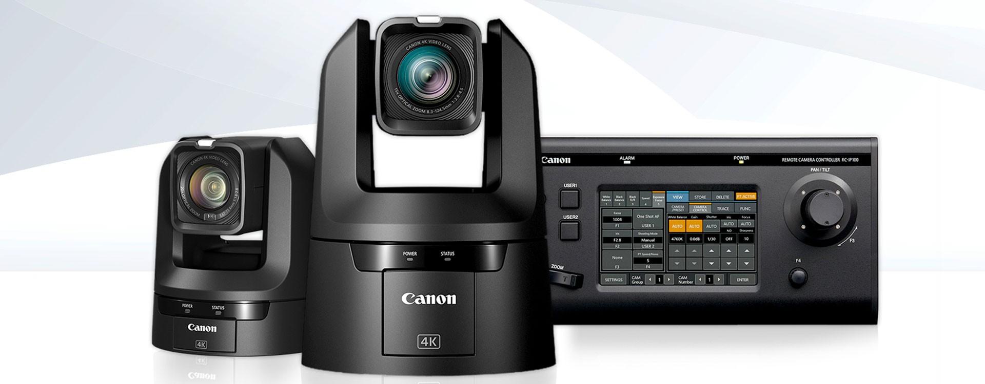 Canon bouscule l'univers audiovisuel avec une nouvelle gamme exceptionnelle en 4K