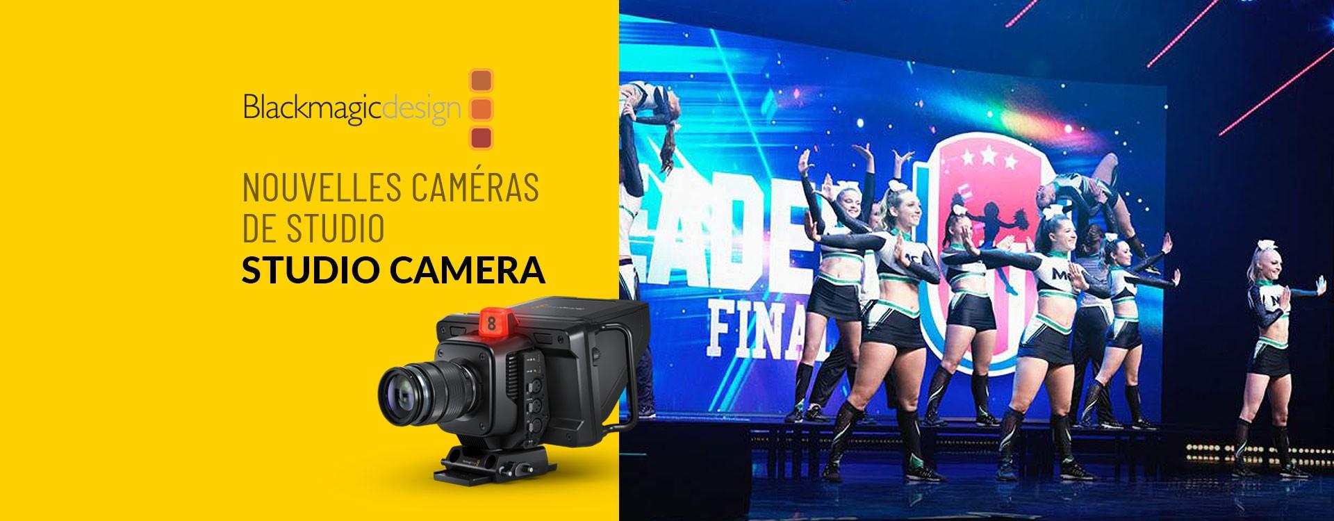 Blackmagic Design révèle sa nouvelle gamme Blackmagic Studio Cameras