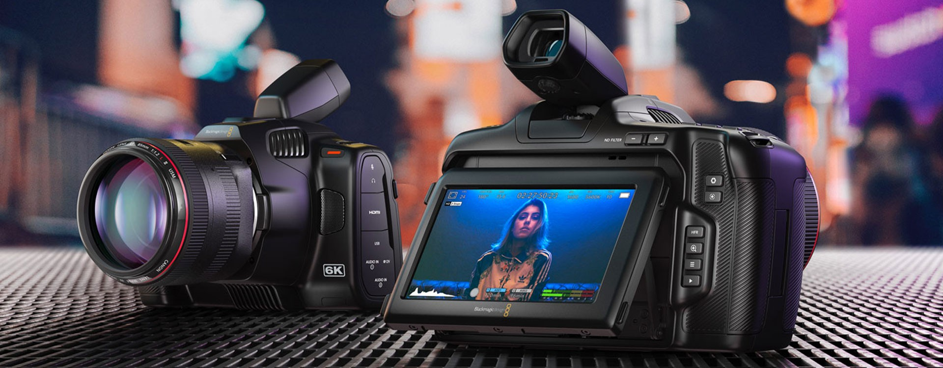 Blackmagic Design annonce la nouvelle Pocket Cinema Camera 6K Pro