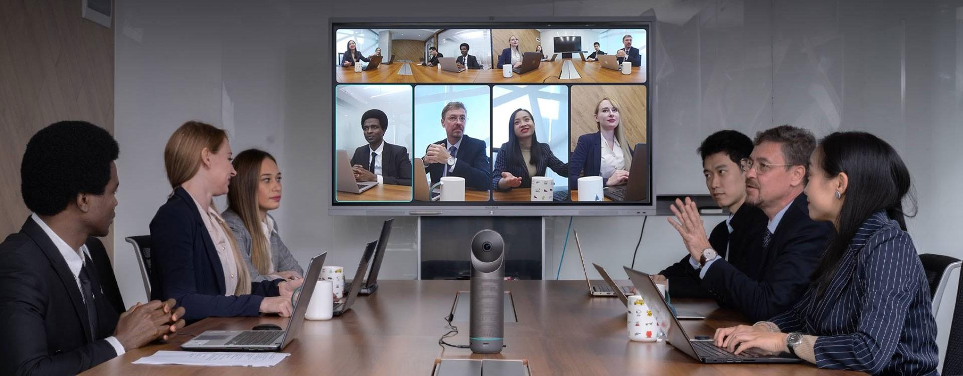 Kandao annonce la Meeting Pro, caméra 360 dédiée aux vidéoconférences 360° à distance