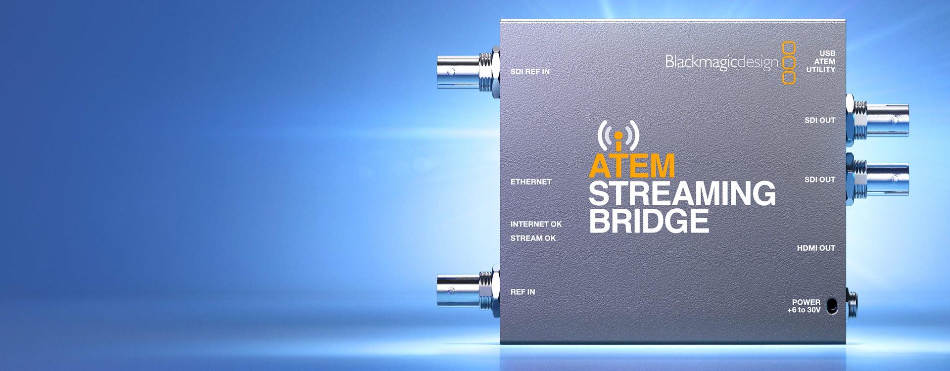 Blackmagic Design annonce le nouvel ATEM Streaming Bridge