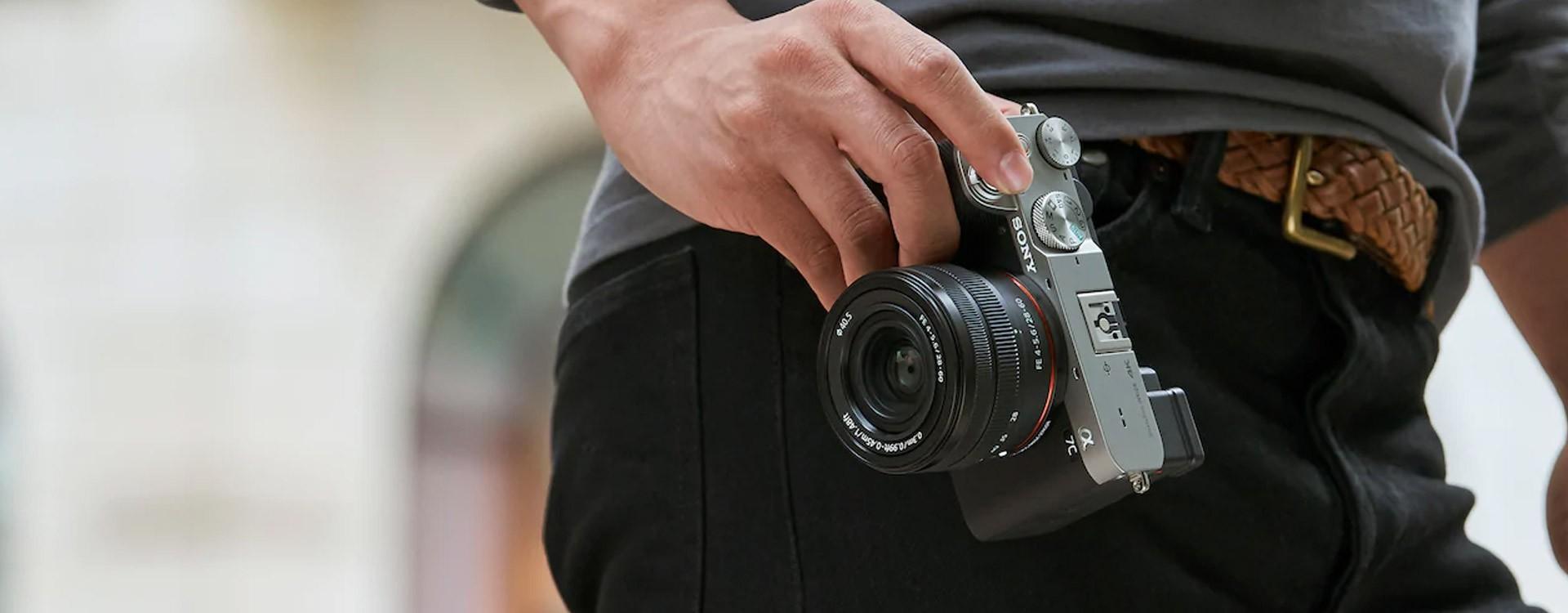 Sony présente l'Alpha 7C, l'appareil photo numérique hybride plein format