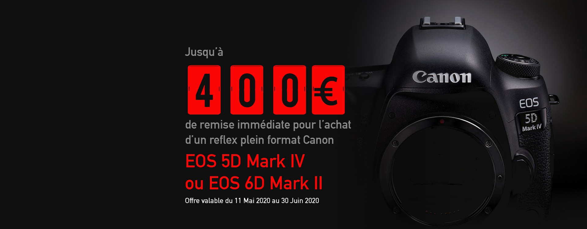 Offre Canon Photo Printemps 2020