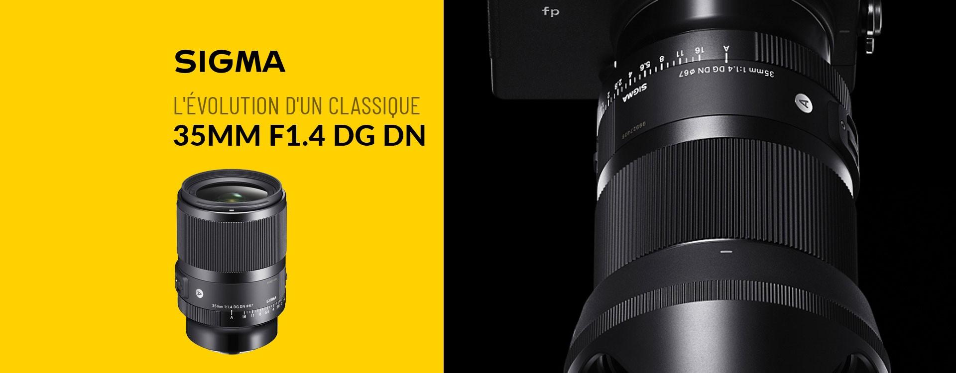 Sigma annonce l'objectif 35mm F1.4 DG DN Art pour les APN hybride plein format