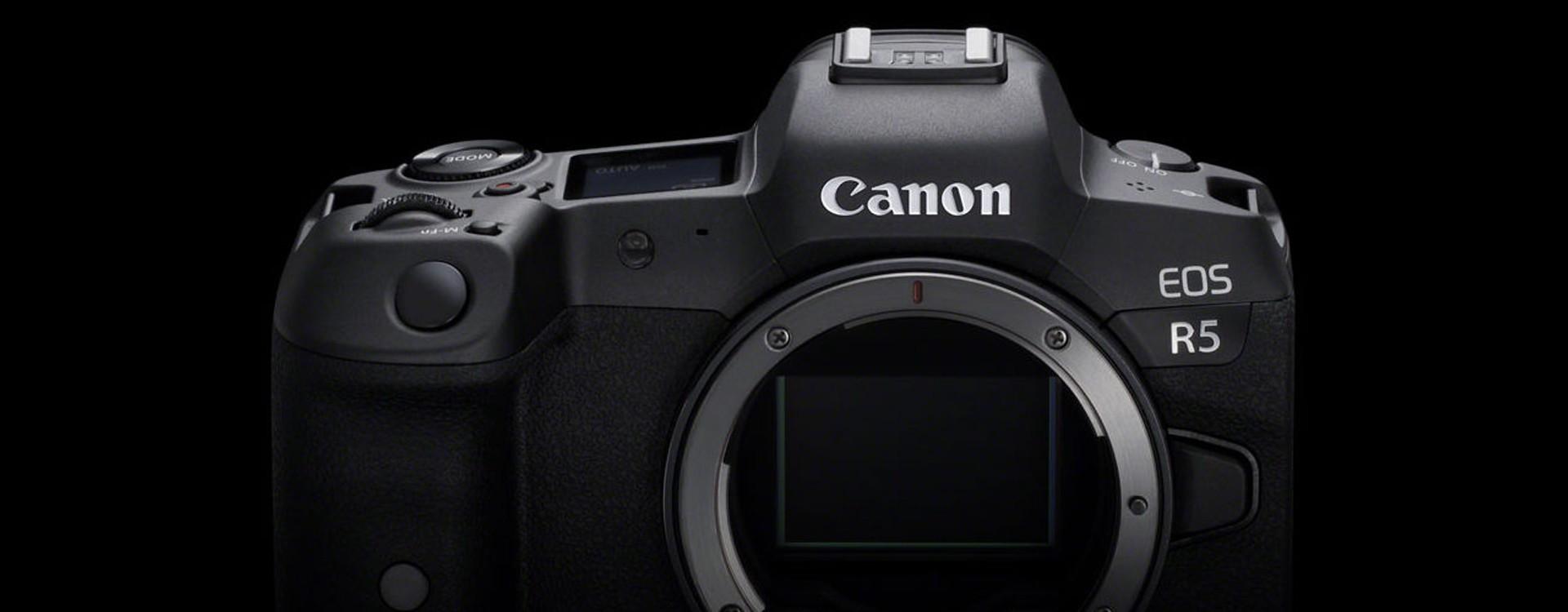 Canon annonce le développement de l'EOS R5 intégrant de la vidéo 8K