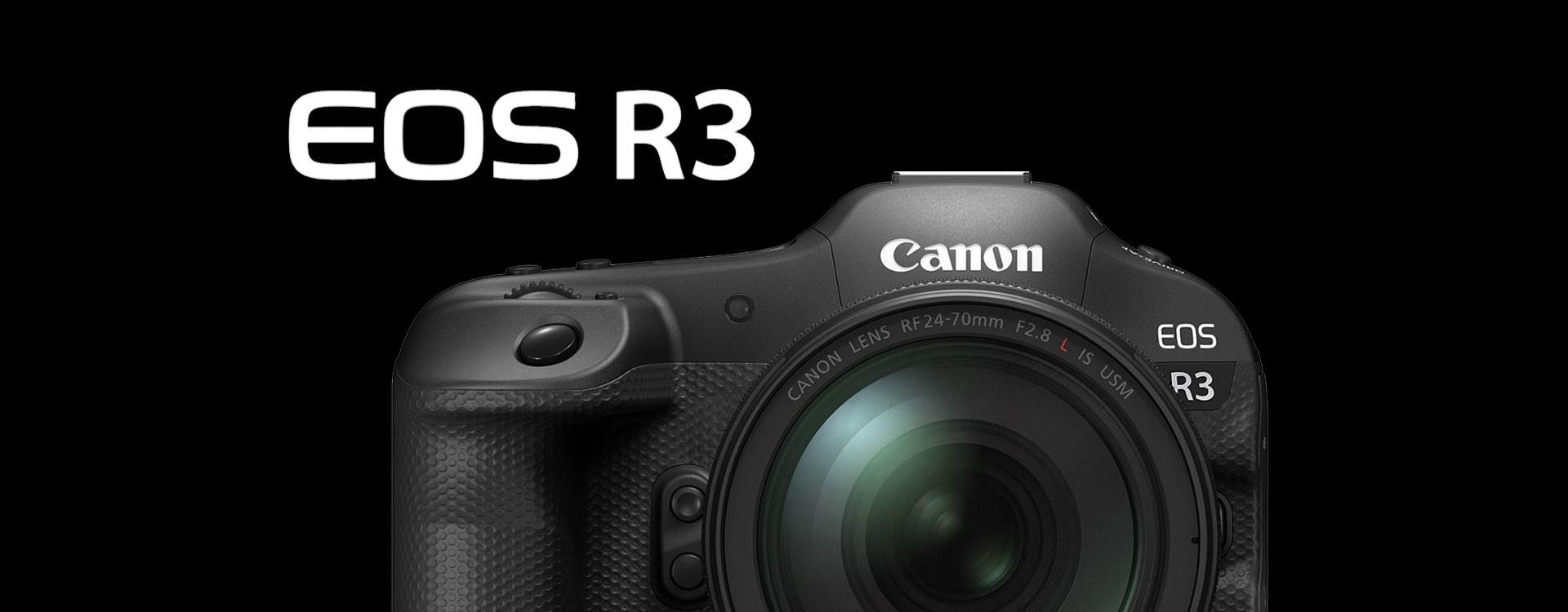 Canon annonce son prochain hybride professionnel L'EOS R3