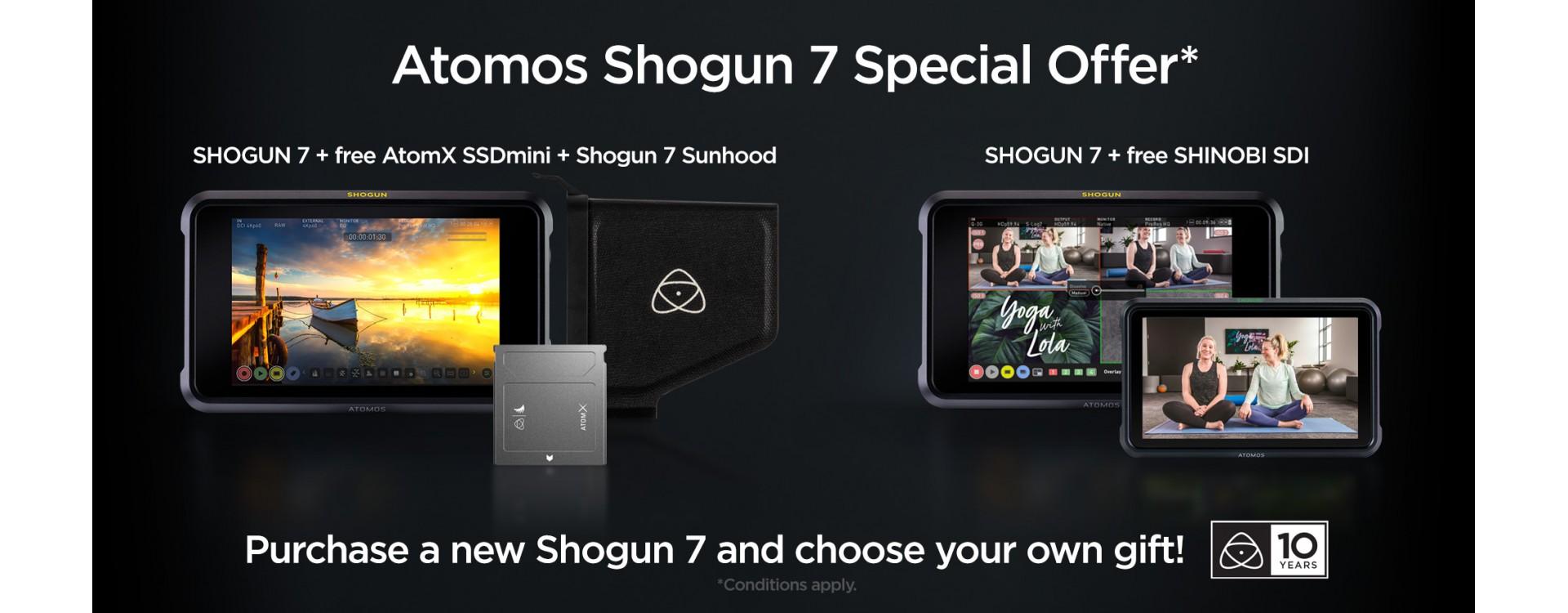 Offre Atomos Shogun 7