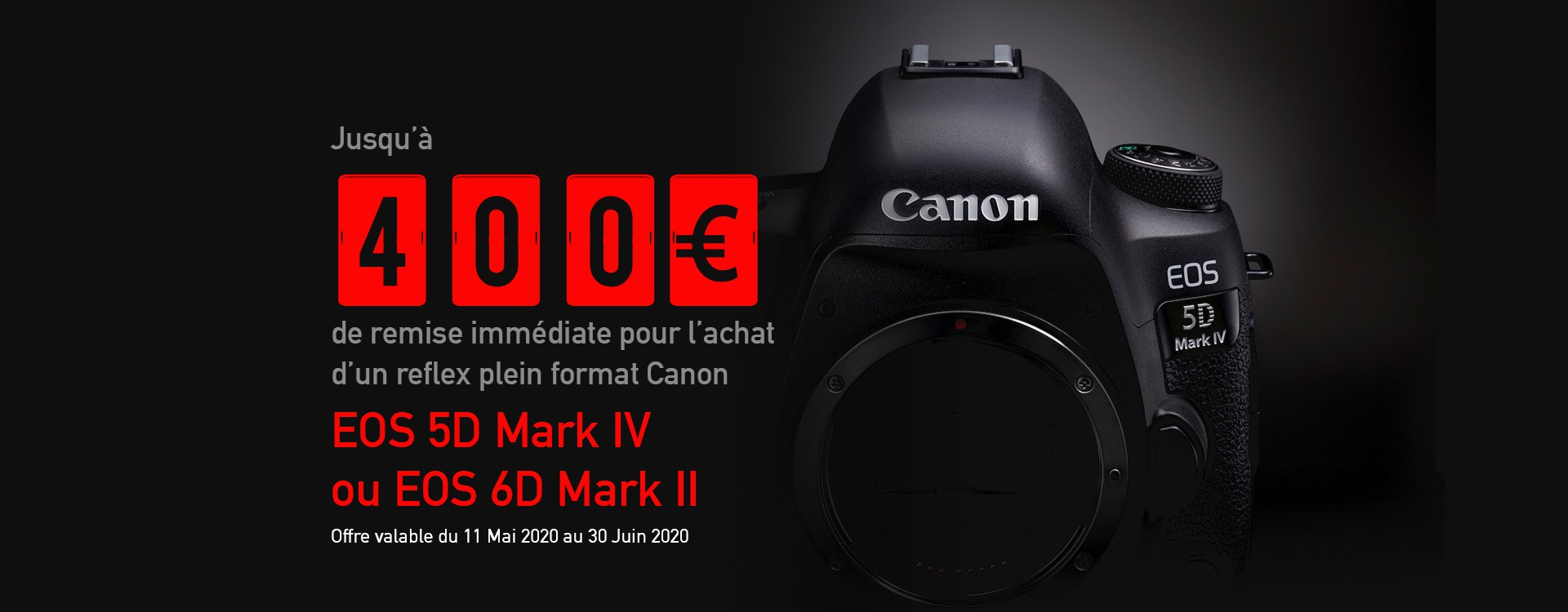 Offre Canon Photo Printemps 2020