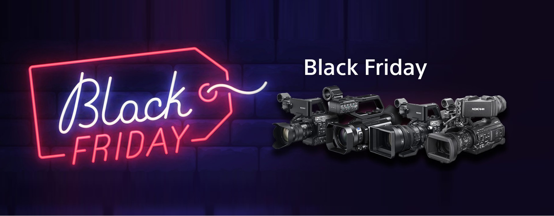 [Offre Sony] Black Friday Sony professionnel